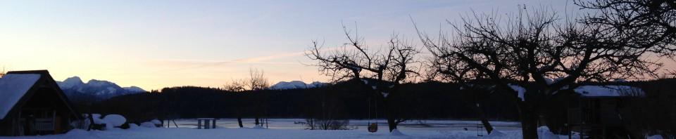 Winter am Seehamer See